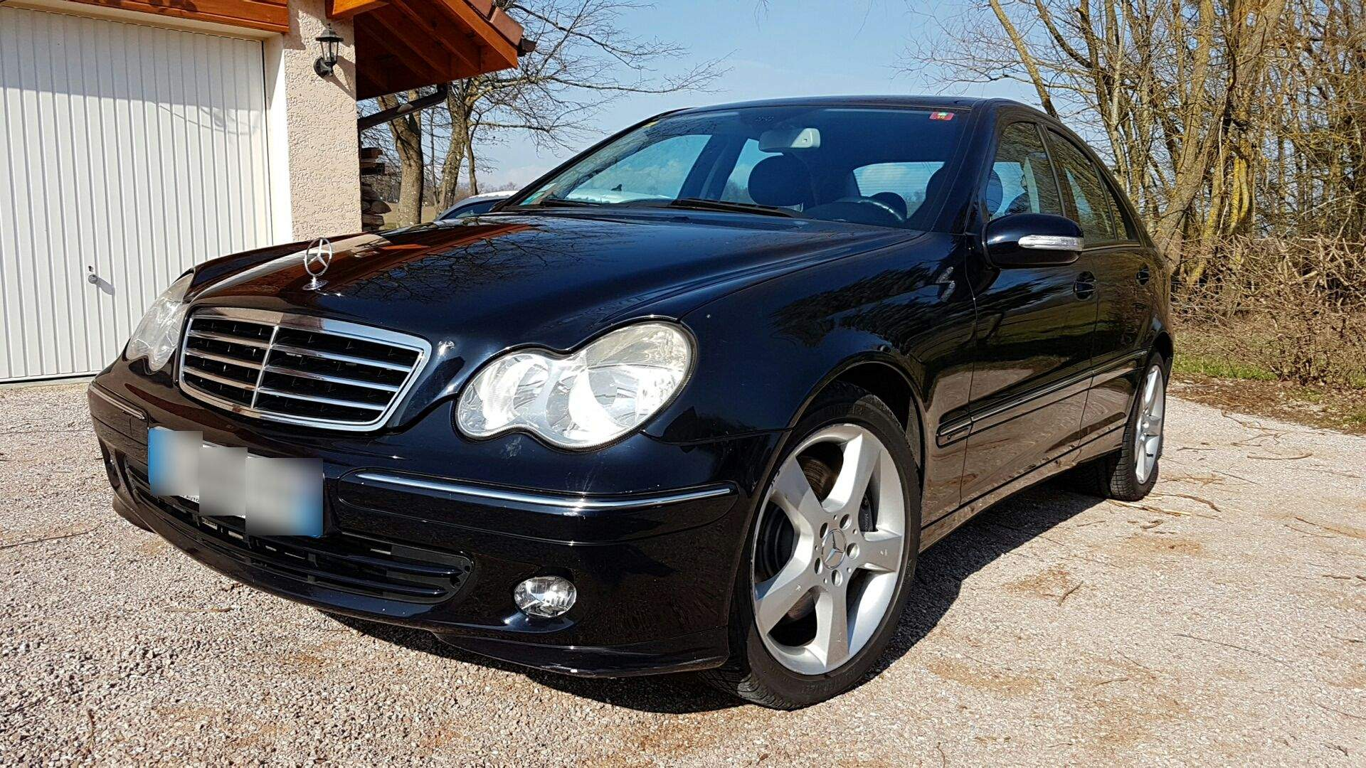 voiture mercedes classe c occasion diesel 2006 108000 km 11100 paris paris. Black Bedroom Furniture Sets. Home Design Ideas