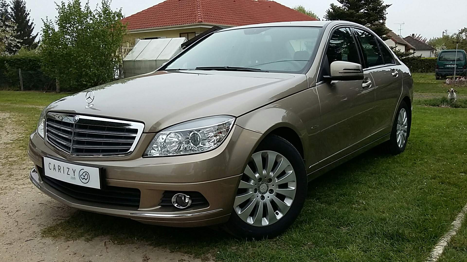voiture mercedes classe c 220 cdi 170 blueefficiency elega occasion diesel 2009 114900 km. Black Bedroom Furniture Sets. Home Design Ideas