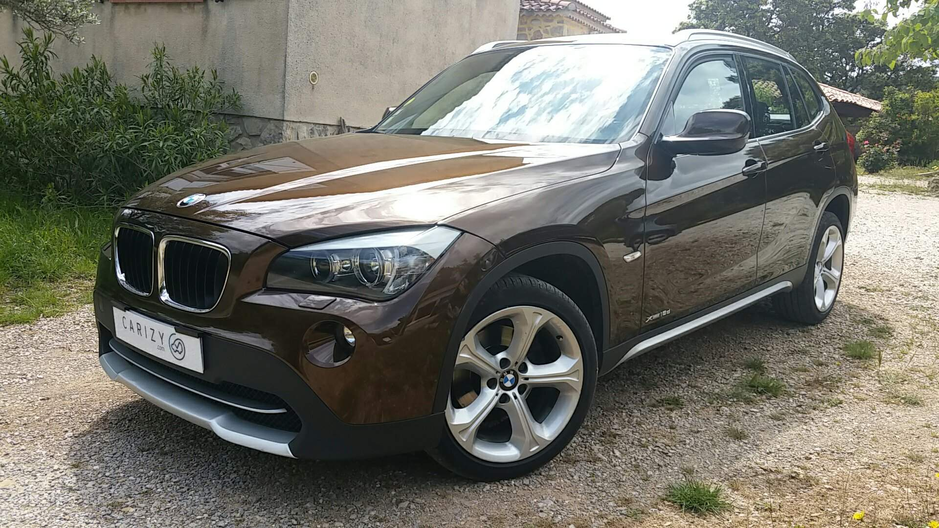 voiture bmw x1 1 8 d 140 luxe xdrive bva occasion diesel. Black Bedroom Furniture Sets. Home Design Ideas