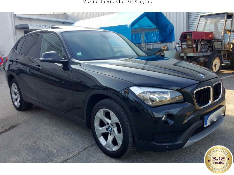 voiture bmw x1 occasion diesel 2013 102000 km. Black Bedroom Furniture Sets. Home Design Ideas