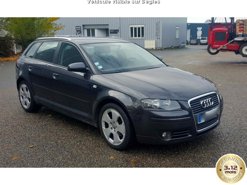 voiture audi a3 occasion diesel 2007 169000 km 7490 b gles gironde 992735143432. Black Bedroom Furniture Sets. Home Design Ideas