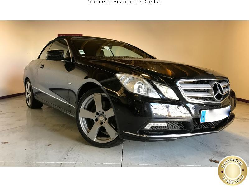 voiture mercedes classe e cabriolet e 350 cdi cabriolet occasion diesel 2010 165000 km. Black Bedroom Furniture Sets. Home Design Ideas