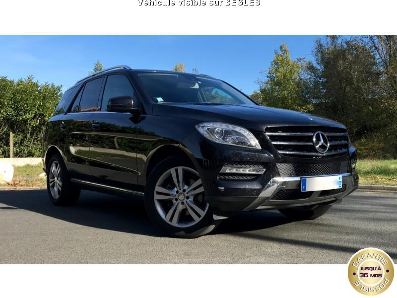voiture mercedes classe m ml 250 bluetec bva 7g tronic p occasion diesel 2015 43000 km. Black Bedroom Furniture Sets. Home Design Ideas