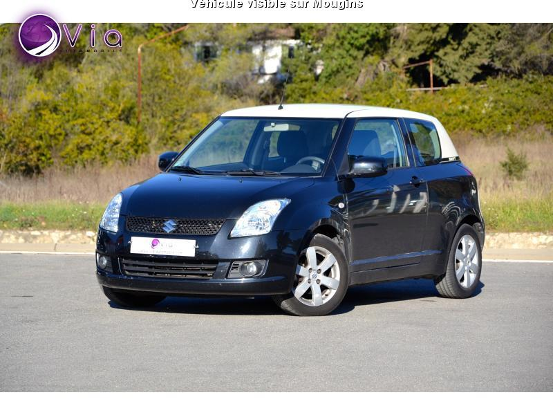 voiture suzuki swift occasion essence 2008 91000 km 5490 grasse alpes maritimes. Black Bedroom Furniture Sets. Home Design Ideas
