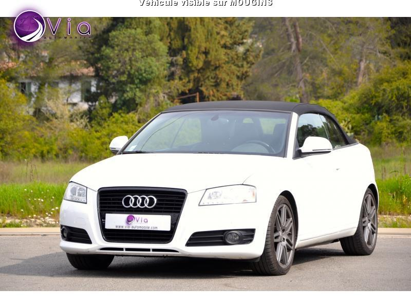 voiture audi a3 cabriolet 2 0 tfsi 200 cv bva ambition occasion essence 2009 108000 km. Black Bedroom Furniture Sets. Home Design Ideas