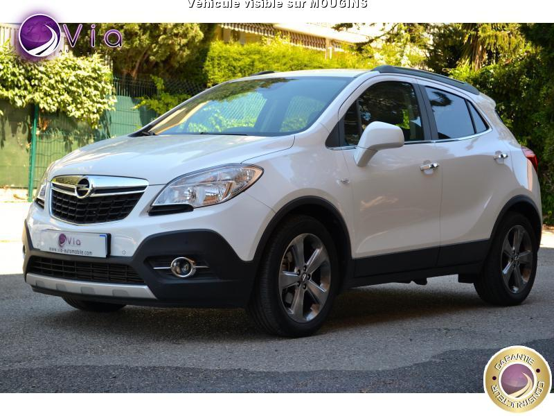 voiture opel mokka 1 4 140 4x2 cosmo pack 24000k 1main occasion essence 2014 24000 km. Black Bedroom Furniture Sets. Home Design Ideas
