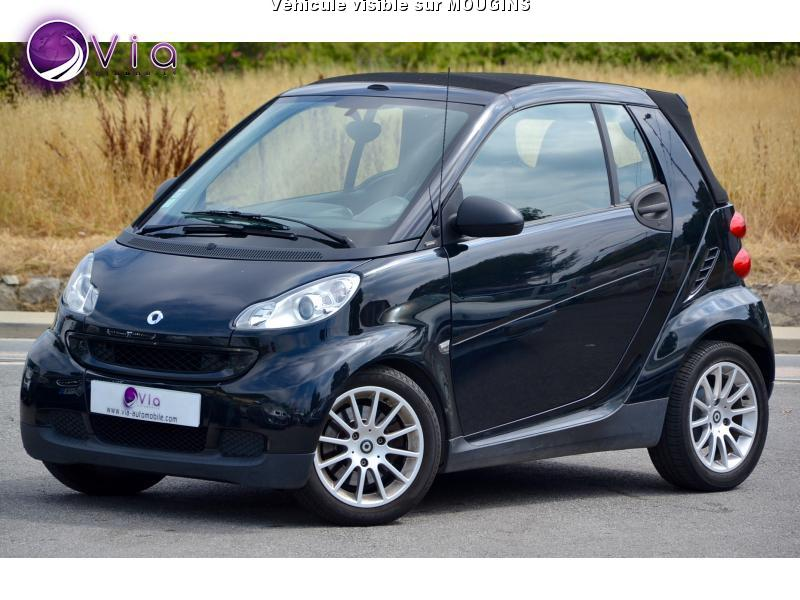 voiture smart fortwo smart cabriolet 71ch passion occasion essence 2007 75000 km 5295. Black Bedroom Furniture Sets. Home Design Ideas