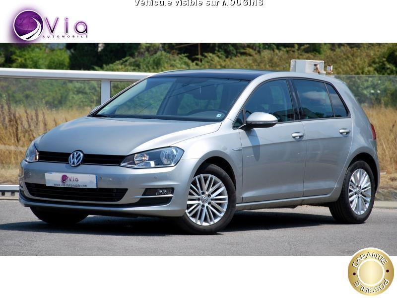 voiture volkswagen golf golf vii tsi 105 cup dsg7 5p 25 00 occasion essence 2014 25200 km. Black Bedroom Furniture Sets. Home Design Ideas