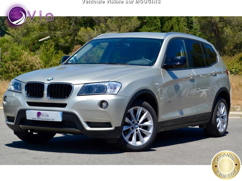 voiture bmw x3 f25 xdrive 20da 184 luxe 62 000k occasion. Black Bedroom Furniture Sets. Home Design Ideas