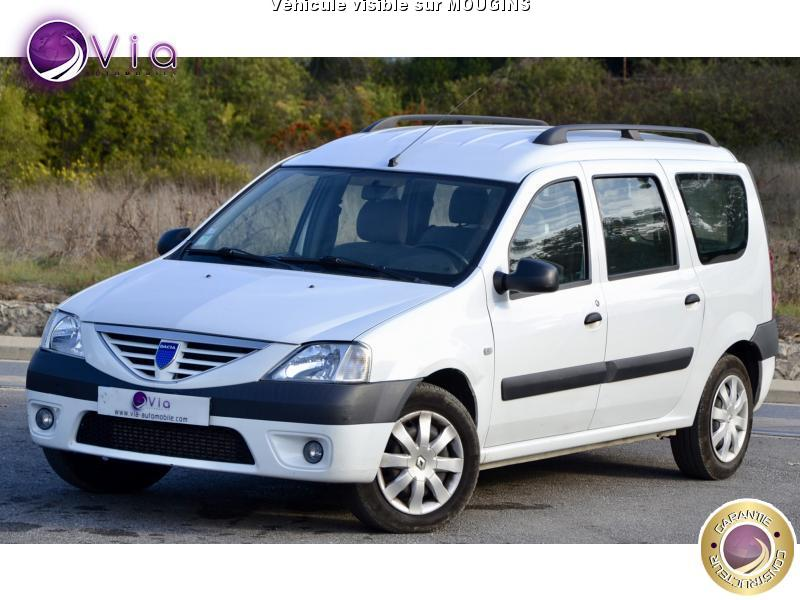 voiture dacia logan mcv break 1 5 dci 85 laur ate 1main occasion diesel 2008 132000 km. Black Bedroom Furniture Sets. Home Design Ideas