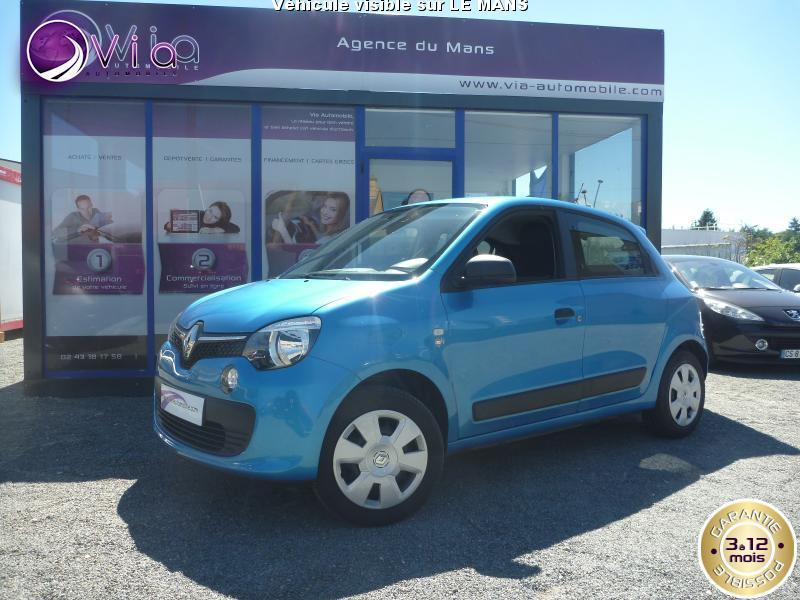 voiture renault twingo iii occasion 2014 11400 km. Black Bedroom Furniture Sets. Home Design Ideas