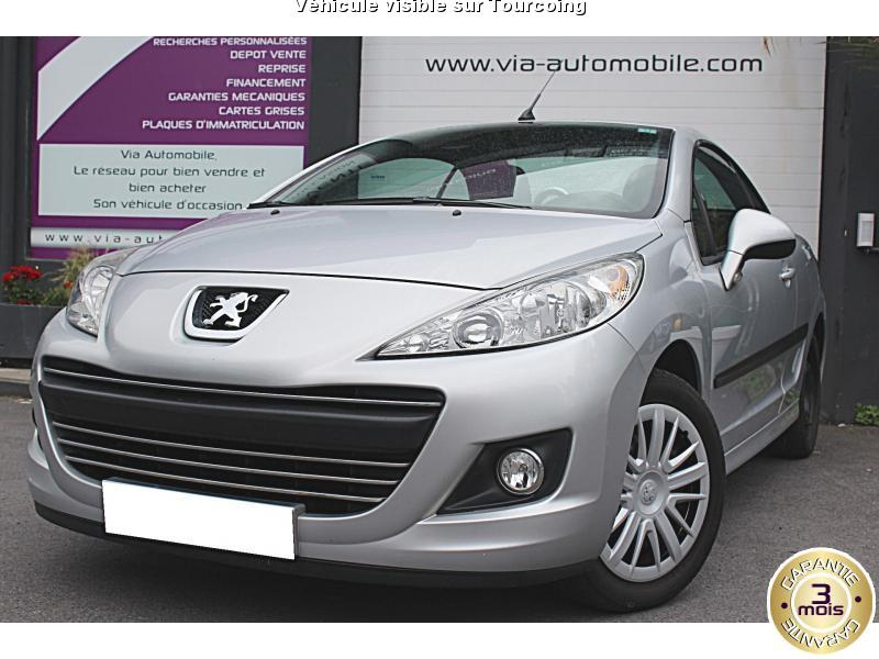 voiture peugeot 207 cc occasion 2010 63000 km 9490 tourcoing nord 992733321136. Black Bedroom Furniture Sets. Home Design Ideas