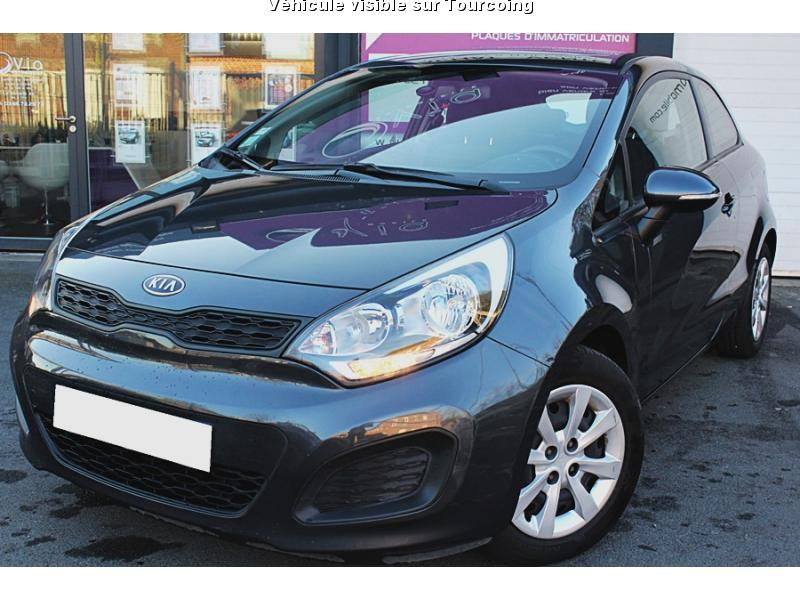 voiture kia rio occasion essence 2012 60000 km. Black Bedroom Furniture Sets. Home Design Ideas