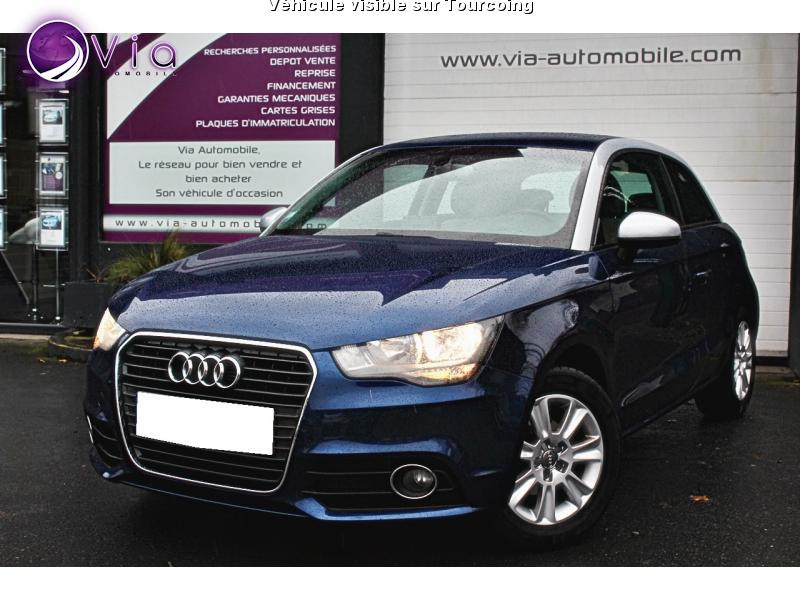 voiture audi a1 occasion essence 2014 14000 km. Black Bedroom Furniture Sets. Home Design Ideas