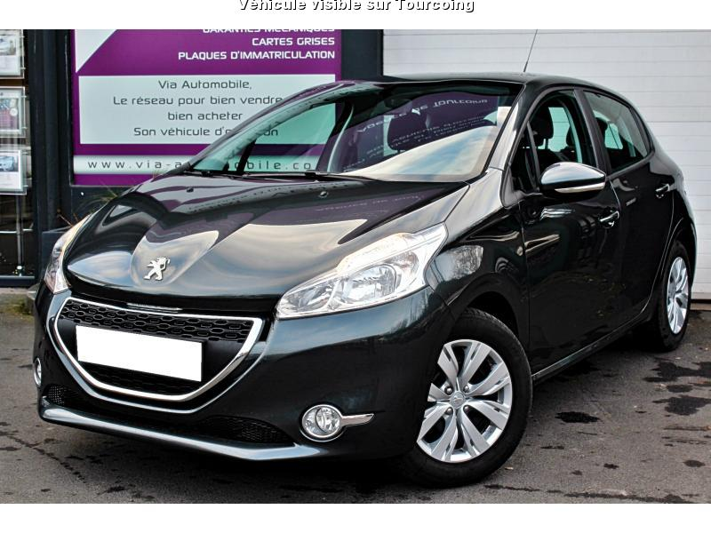 voiture peugeot 208 occasion diesel 2015 38000 km. Black Bedroom Furniture Sets. Home Design Ideas