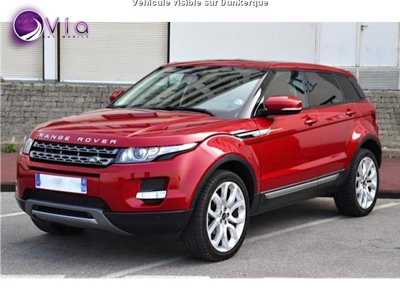 voiture land rover range rover evoque occasion diesel 2013 77000 km 29990 dunkerque. Black Bedroom Furniture Sets. Home Design Ideas