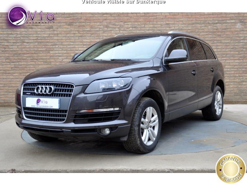 voiture audi q7 occasion diesel 2008 143800 km. Black Bedroom Furniture Sets. Home Design Ideas