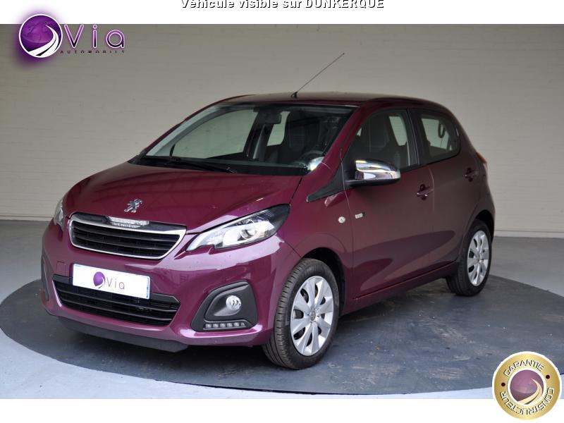 voiture peugeot 108 vti 68 bv etg style occasion essence 2016 200 km 11490. Black Bedroom Furniture Sets. Home Design Ideas