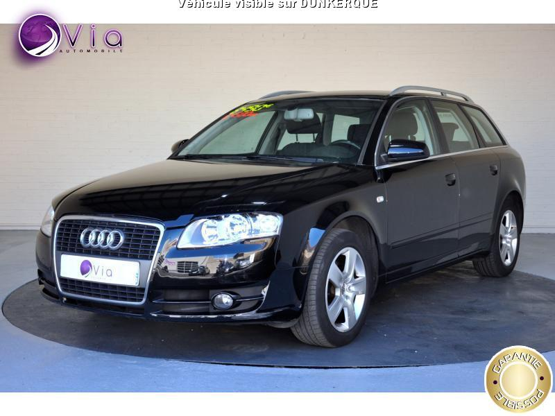 voiture audi a4 1 9 tdi 116 avant ambiente occasion diesel 2007 164500 km 8490. Black Bedroom Furniture Sets. Home Design Ideas