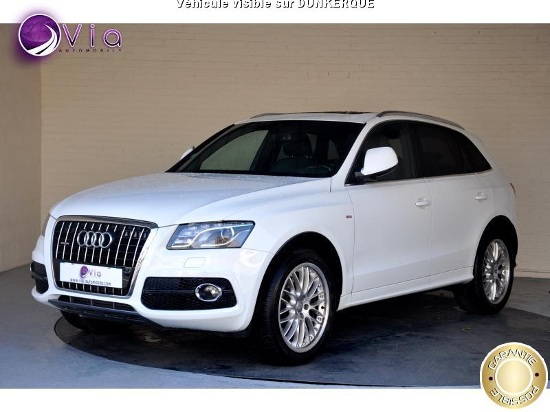 voiture audi q5 avus s tronic quattro 3 0 v6 240cv occasion diesel 2012 75000 km 31990. Black Bedroom Furniture Sets. Home Design Ideas