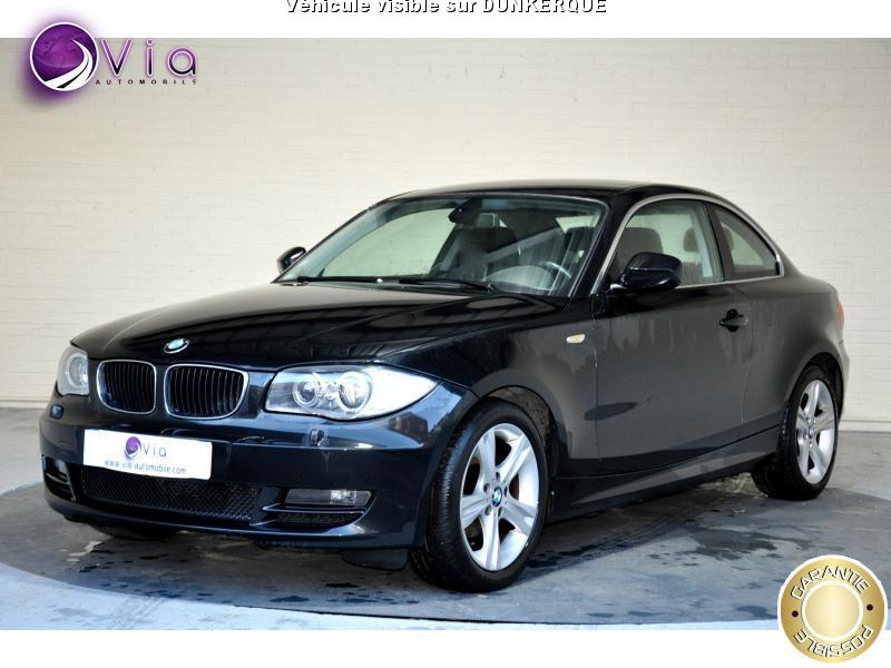 voiture bmw s rie 1 118d 143cv coupe confort occasion diesel 2010 125000 km 11990. Black Bedroom Furniture Sets. Home Design Ideas