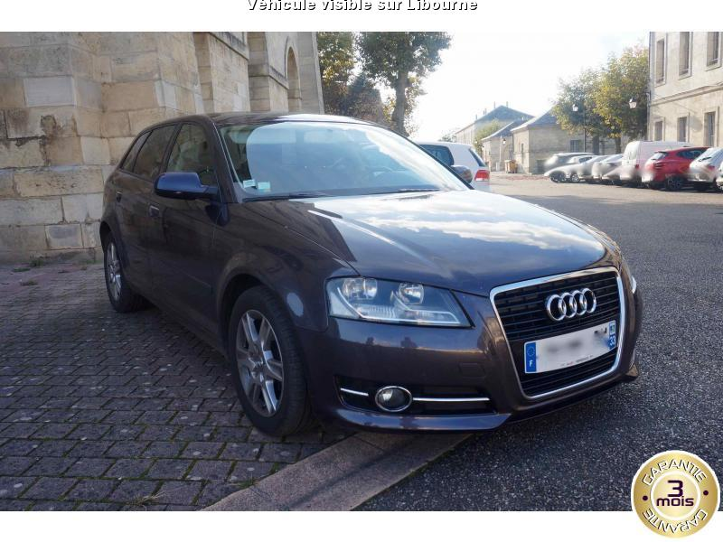 voiture audi a3 occasion diesel 2011 129500 km. Black Bedroom Furniture Sets. Home Design Ideas