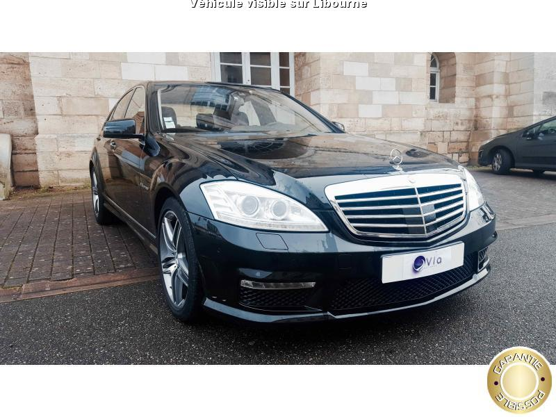 voiture mercedes classe s s 63 amg occasion essence 2010 38000 km 51390 libourne. Black Bedroom Furniture Sets. Home Design Ideas