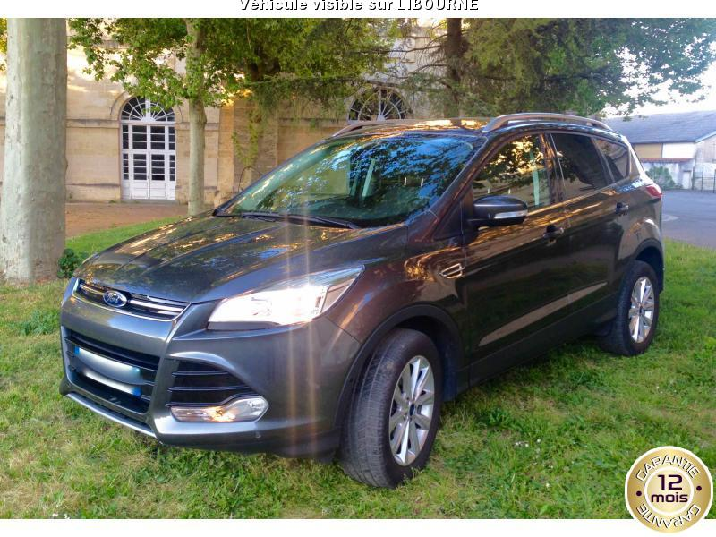 voiture ford kuga 2 0 tdci 150 titanium occasion diesel 2015 28000 km 21990 libourne. Black Bedroom Furniture Sets. Home Design Ideas