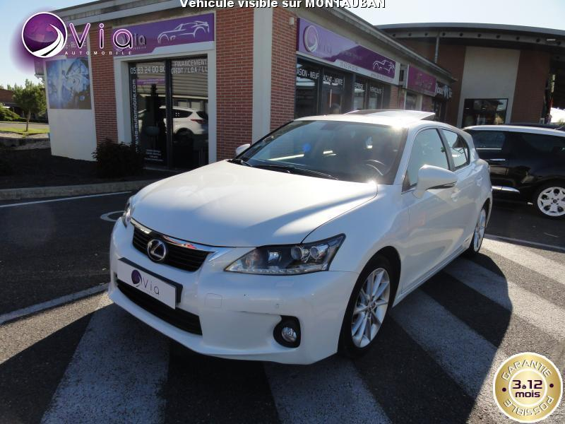 voiture lexus ct 1 8 e cvt passion to gps occasion hybride 2012 61000 km 17950. Black Bedroom Furniture Sets. Home Design Ideas