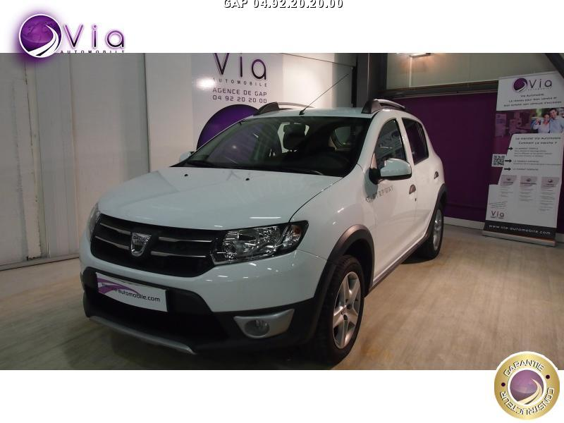 voiture dacia sandero sandero 1 5 dci 90 fap stepway prest occasion diesel 2014 52542 km. Black Bedroom Furniture Sets. Home Design Ideas