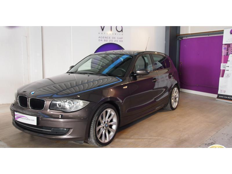 voiture bmw s rie 1 120d bva steptronic berline e87 lci occasion diesel 2008 117476 km. Black Bedroom Furniture Sets. Home Design Ideas