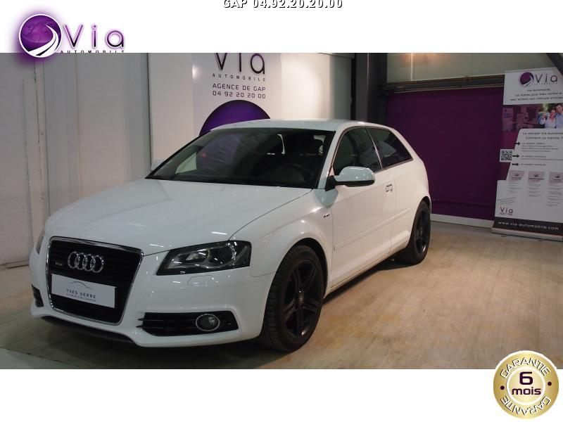voiture audi a3 quattro 2 0 tdi 170 ch s lin occasion diesel 2011 120453 km 13490 la. Black Bedroom Furniture Sets. Home Design Ideas