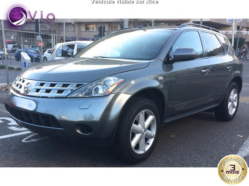 voiture nissan murano occasion essence 2006 113400 km 9990 nice alpes maritimes. Black Bedroom Furniture Sets. Home Design Ideas