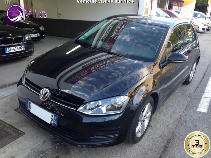 voiture volkswagen golf occasion essence 2013 72800 km 11990 nice alpes maritimes. Black Bedroom Furniture Sets. Home Design Ideas
