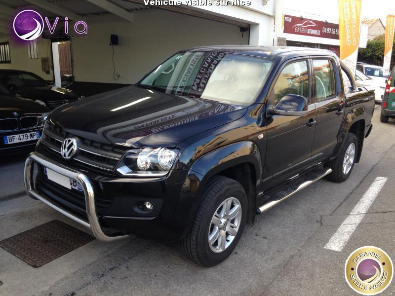 voiture volkswagen amarok 2 0 16v tdi 140 pick up trendlin occasion diesel 2016 796 km. Black Bedroom Furniture Sets. Home Design Ideas
