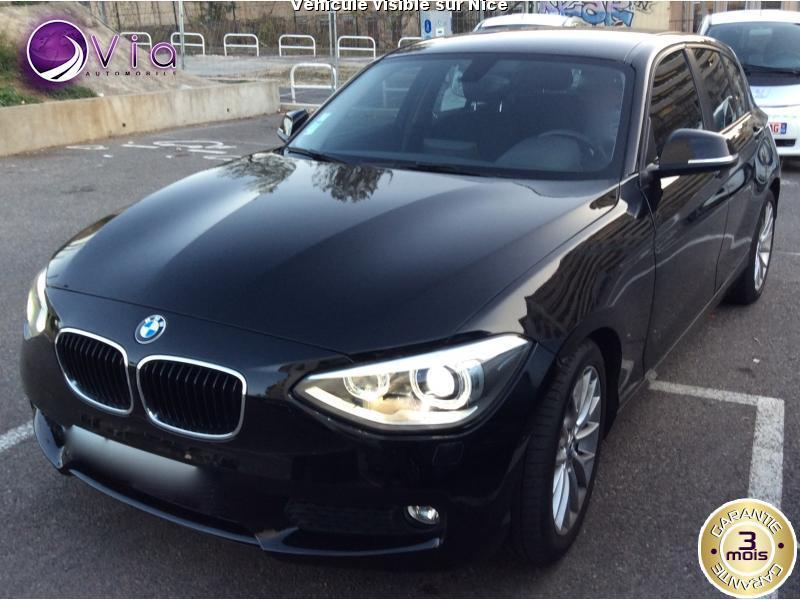 voiture bmw s rie 1 occasion diesel 2012 62000 km 16990 nice alpes maritimes. Black Bedroom Furniture Sets. Home Design Ideas