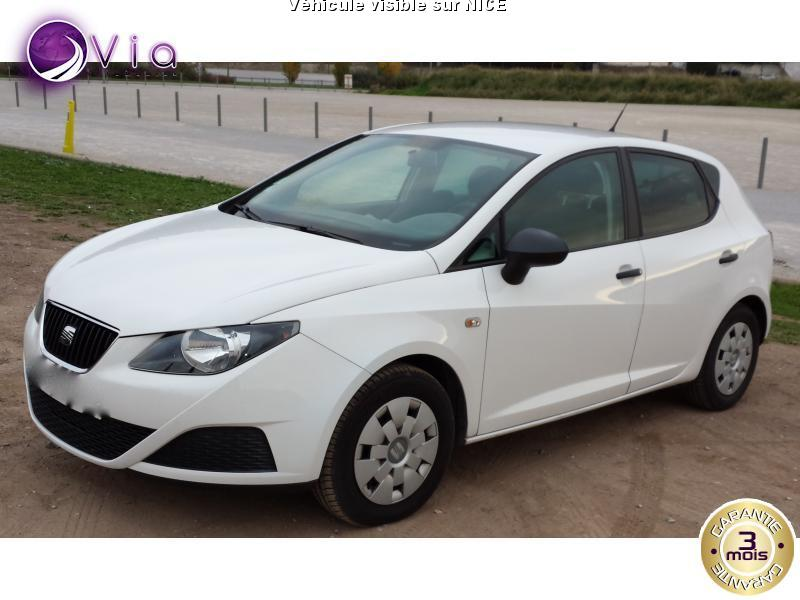 voiture seat ibiza ibiza 1 6 tdi fap 90 2002 berline p occasion diesel 2010 70000 km. Black Bedroom Furniture Sets. Home Design Ideas