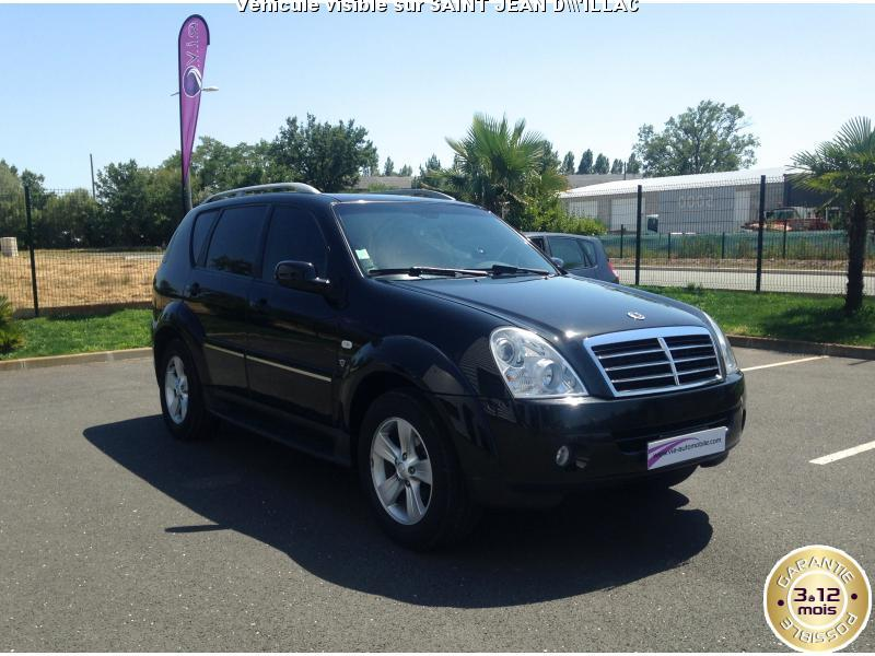voiture ssangyong rexton occasion diesel 2008 125000 km 14490 artigues pr s bordeaux. Black Bedroom Furniture Sets. Home Design Ideas
