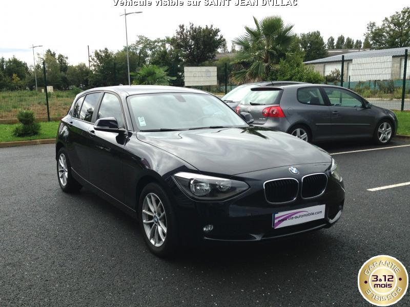 voiture bmw s rie 1 occasion diesel 2013 43000 km 16990 artigues pr s bordeaux. Black Bedroom Furniture Sets. Home Design Ideas