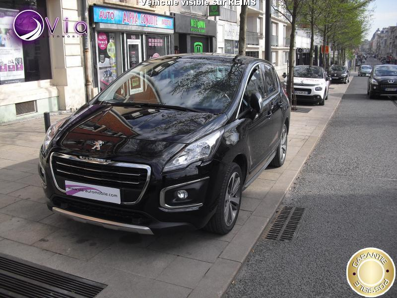 Voiture peugeot 3008 occasion diesel 2014 40000 km for Garage reims voiture occasion