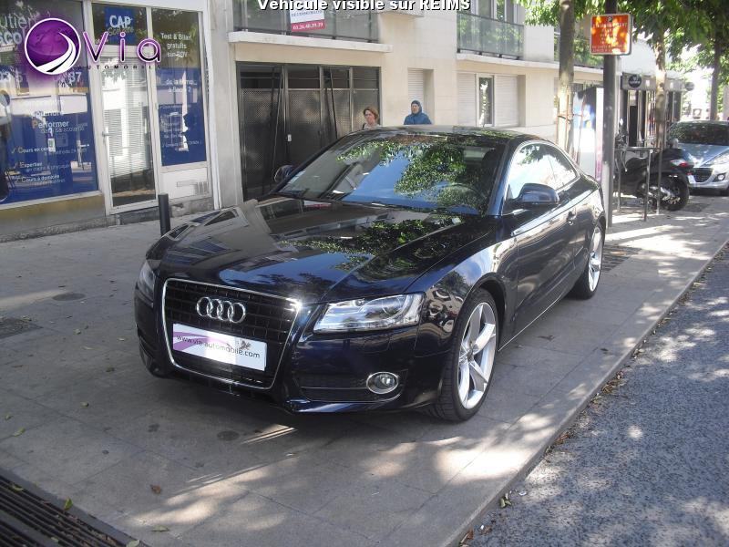 voiture audi a5 quattro 3 0 v6 tdi 240 ambition luxe occasion diesel 2009 148945 km. Black Bedroom Furniture Sets. Home Design Ideas
