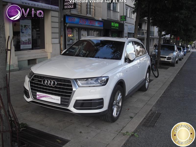 voiture audi q7 quattro 3 0 v6 tdi 272 s line occasion diesel 2015 69854 km 54990. Black Bedroom Furniture Sets. Home Design Ideas