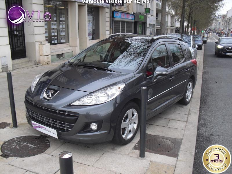 voiture peugeot 207 sw 1 6 hdi 92 serie 64 occasion diesel 2011 136985 km 4990 reims. Black Bedroom Furniture Sets. Home Design Ideas