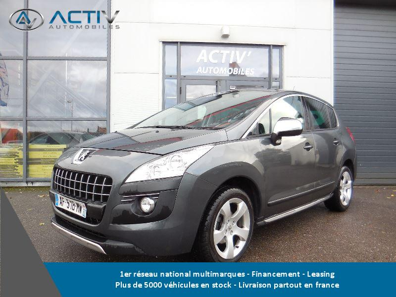 voiture peugeot 3008 occasion diesel 2009 143407 km. Black Bedroom Furniture Sets. Home Design Ideas