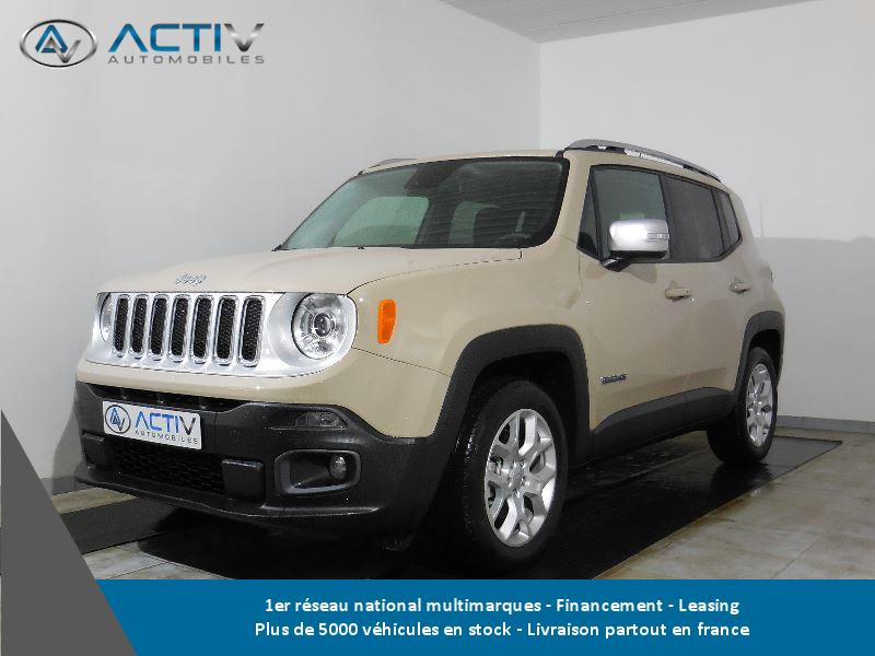 voiture jeep renegade 1 4 multiair s s 140ch limited occasion essence 2016 10 km 22480. Black Bedroom Furniture Sets. Home Design Ideas