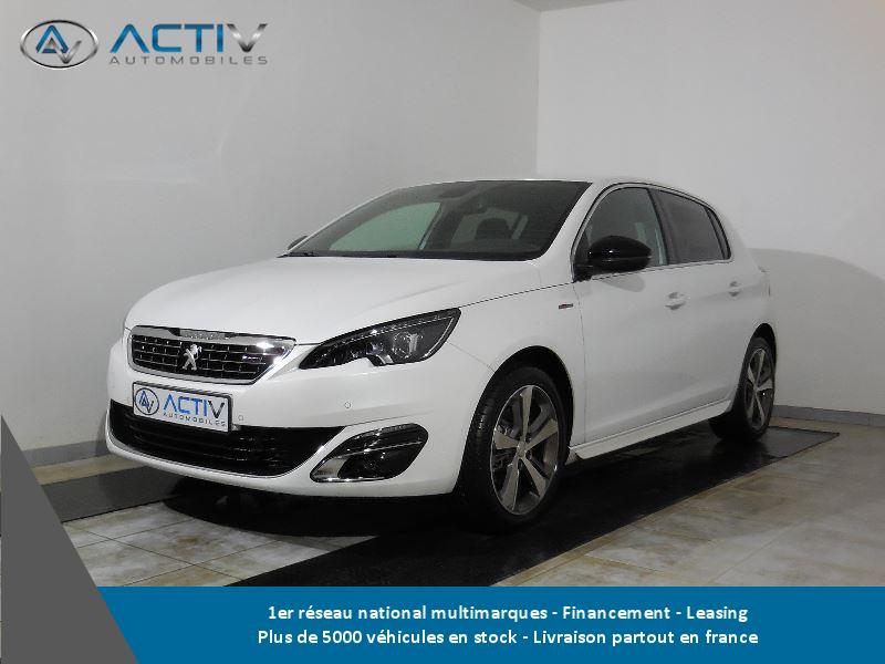 voiture peugeot 308 occasion essence 2016 3000 km. Black Bedroom Furniture Sets. Home Design Ideas
