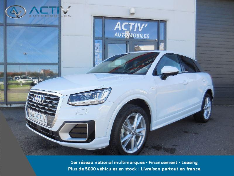 voiture audi q2 1 6 tdi 116ch s line occasion diesel 2016 10 km 32680 laxou meurthe. Black Bedroom Furniture Sets. Home Design Ideas