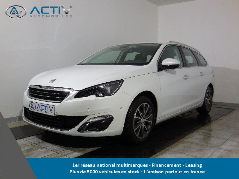 voiture peugeot 308 sw 1 6 bluehdi 120ch allure s s occasion diesel 2016 10 km 21680. Black Bedroom Furniture Sets. Home Design Ideas
