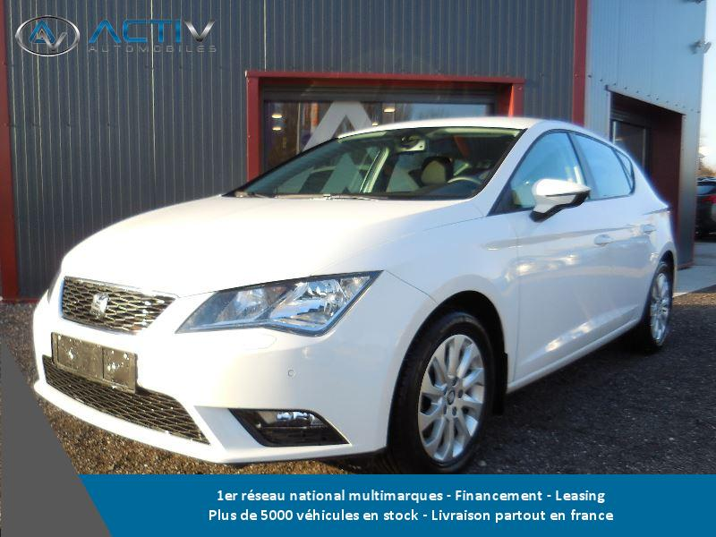 Voiture seat leon occasion essence 2015 31658 km for Voiture occasion meurthe et moselle garage