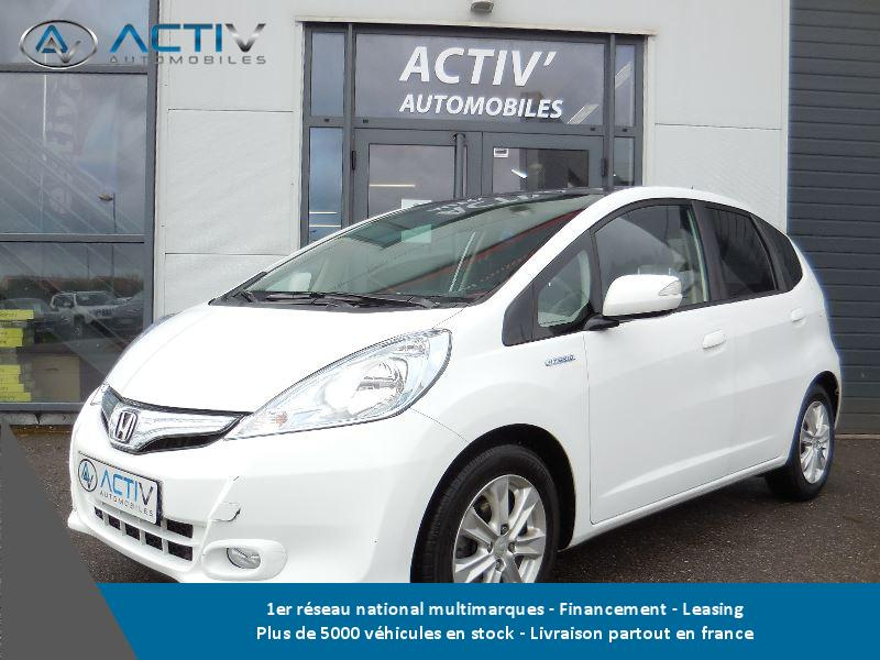 voiture honda jazz 1 3 i vtec 88 hybrid luxury occasion. Black Bedroom Furniture Sets. Home Design Ideas